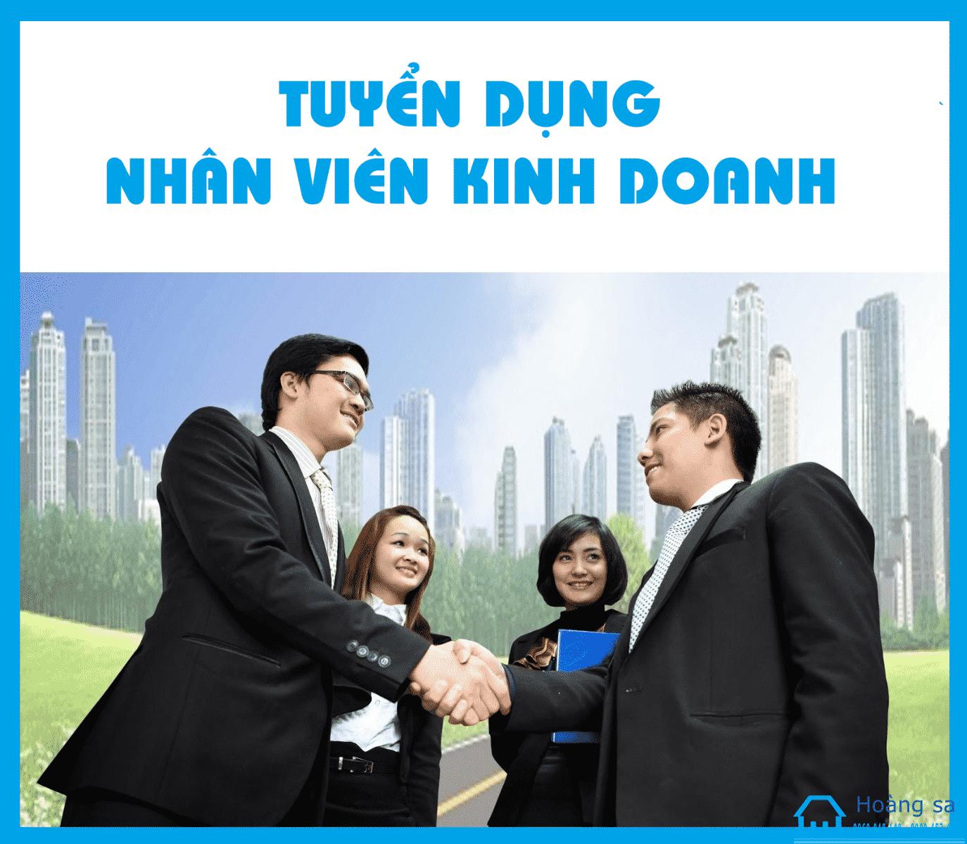 Tuyen Nhan Vien Kinh Doanh